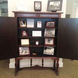 Zenobia's Cabinet located in the Phi Mu Museum at the National Headquarters in Peachtree City, Ga.