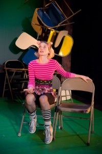Mary Tuomanen in 2013's Pookie Goes Grenading. Photo by Johanna Austin.