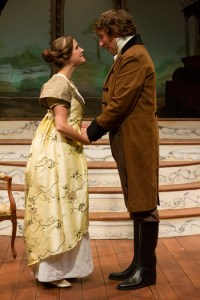 Lauren Sowa and Harry Smith star in EMMA at the Lantern Theater Company (Photo credit: Mark Garvin)