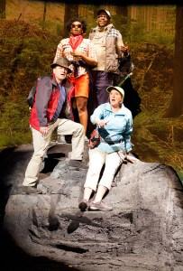 David Ingram, Ashley Everage, Kevin Jackson, Marcia Saunders. Photo by Alexander Iziliaev.