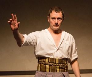 Jered McLenigan as Marc Antony (Photo courtesy of Mark Garvin)