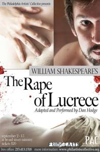 Philadelphia Artists' Collective, THE RAPE OF LUCRECE (Photo credit: www.plate3photography.com)