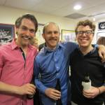 Happier times: some guy (Andrew Carroll), Chris Davis, and Doug Williams at the opening of IRC's Ondine.