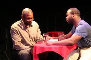 Lindsay Smalling with Akeem Davis as Bernard 2.