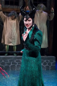 Kim Carson as Morgana in ARTHUR AND THE TALE OF THE RED DRAGON at People's Light (Photo caption: Mark Garvin)