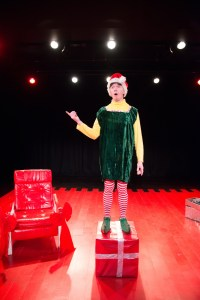 Keith Conallen as Crumpet in Flashpoint's THE SANTALAND DIAIRES (Photo credit: Courtesy of Flashpoint Theatre Company)