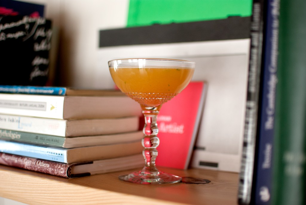 books-cocktails