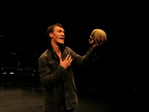 Tucker Delaney-Winn in the title role of Feast Productions' HAMLET THE HIP-HOPERA (Photo credit: Courtesy of the Production)