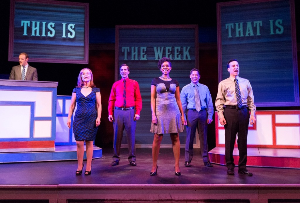 The ensemble of 1812's THIS IS THE WEEK THAT IS (Photo credit: Mark Garvin)