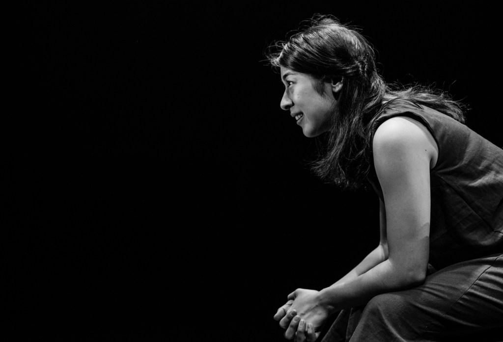 Leigha Kato (as Saint Joan). Photo by Shawn May.
