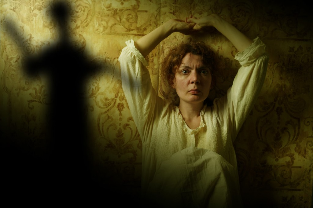 Jennifer Summerfield in THE YELLOW WALLPAPER. Photo credit: Kyle Cassidy.