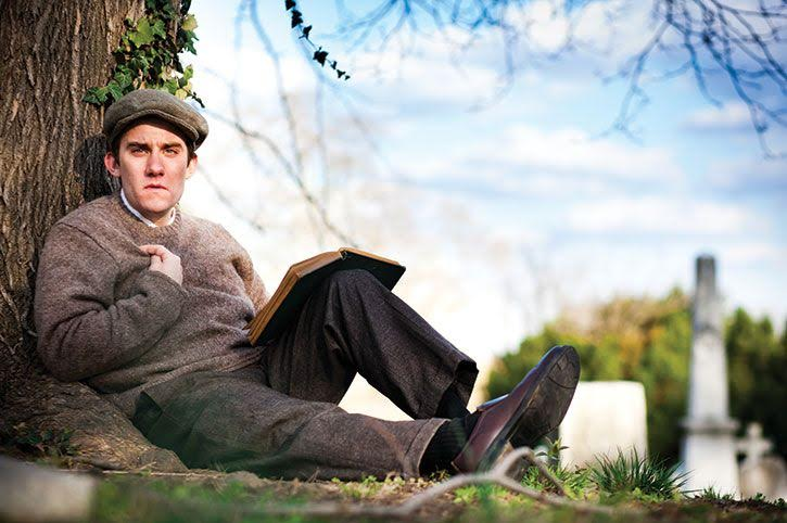 Peter Danelski is THE CRIPPLE OF INISHMAAN at Curio Theatre Company. Photo: Rebecca Gudelunas