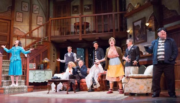 NOISES OFF at the Walnut Street Theatre. Photo by Mark Gavin.