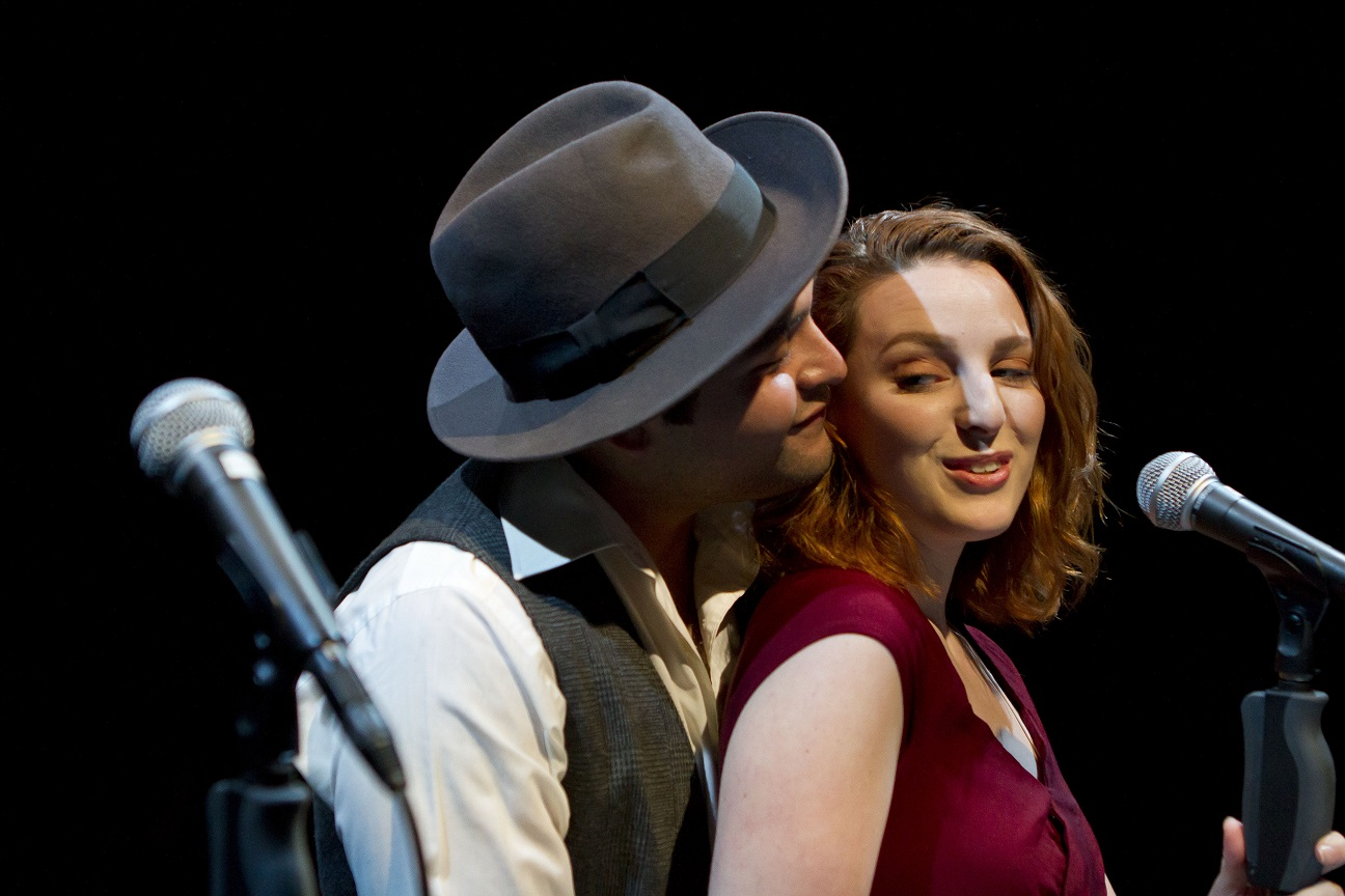 Angel Sigala & Rita Castagna in BONNIE AND CLYDE.