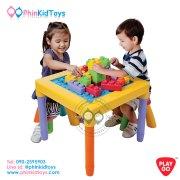 2244-Playgo-My-Play-Table-โต๊ะตัวต่อบล๊อกใหญ่พร้อมเก้าอี้-1-ตัว-2