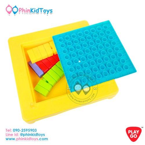 2244-Playgo-My-Play-Table-โต๊ะตัวต่อบล๊อกใหญ่พร้อมเก้าอี้-1-ตัว-6