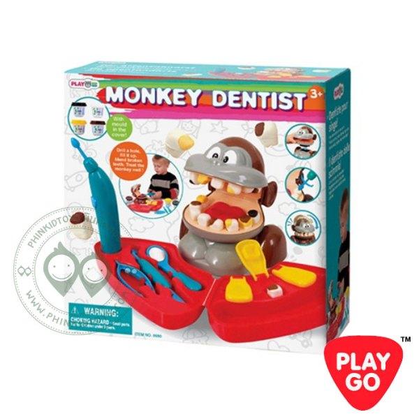 Playgo-Monkey-Dentist ชุดทันตแพทย์ลิงมีเสียง