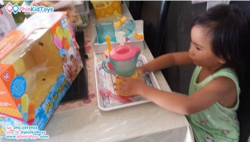 ชุดทำไอศกรีมแท่ง Playgo My Ice Work