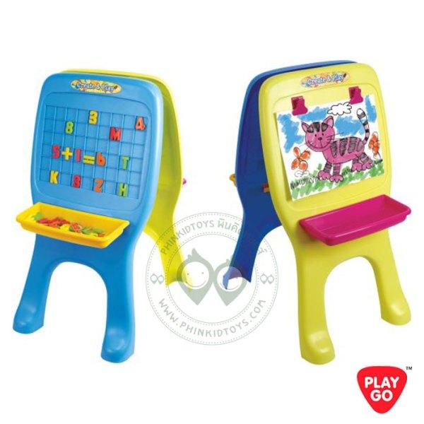 Playgo Alphabet and Drawing Board กระดานเสริมทักษะ 2in1 (บวกเลข+วาดรูป)