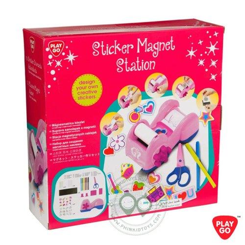 7810 Playgo Sticker Magnets Station ชุดเครื่องประดิษฐ์สติกเกอร์แผ่นแม่เหล็ก