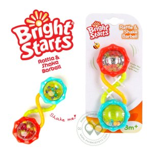ที่จับเขย่า Bright Starts Barbell Rattle & Shake