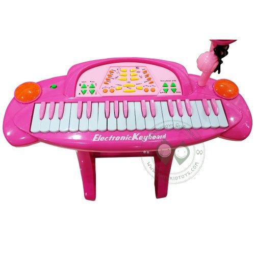 Electronic Keyboard คีย์บอร์ด 36 คีย์สีชมพู อัดเสียงได้