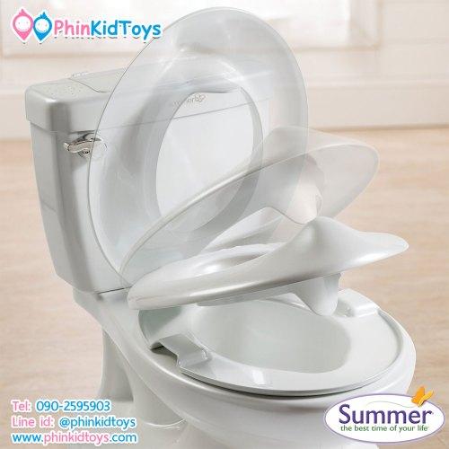กระโถนชักโครกเด็กเสมือนจริงมีเสียง Summer Infant My Size Potty