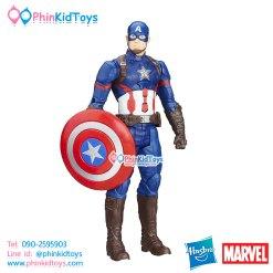 หุ่นโมเดล Hasbro Marvel Titan Hero Series Captain America Electronic Figure 12-inch มีเสียง พูดได้