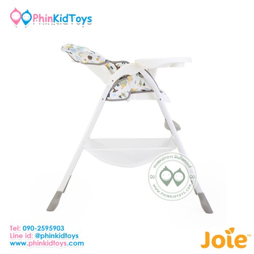 เก้าอี้สูง Joie High Chair Mimzy Sancker Alphabet-5