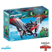 70039-Playmobil-Dreamworks-How to Train your Dragon 3 Dragons-Deathgripper-With-Grimmel-Playset-01