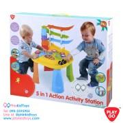Playgo 2229 5in1 Action Activity Station 5อิน1 โต๊ะกิจกรรมเอ็คชั่นเสริมพัฒนาการ-02