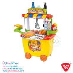 Playgo-3512-ร้านรถเข็นขายฮ็อทดอค-3
