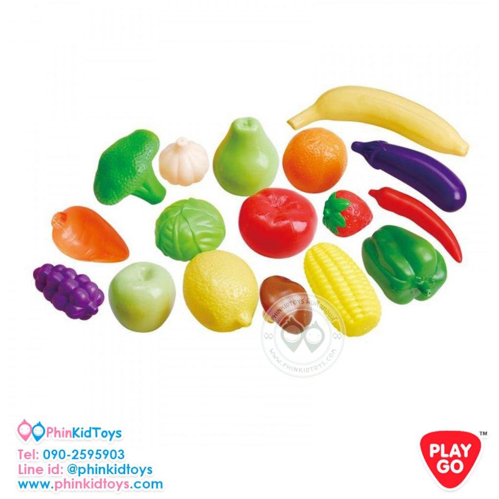 Playgo-3946-ผักผลไม้ถุงตาข่าย-3