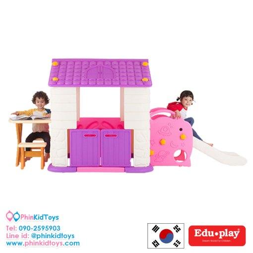 บ้านสไลด์พร้อมโต๊ะเก้าอี้ Eduplay PH-TBSL48V-3
