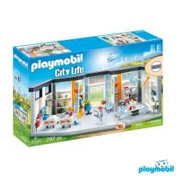 Playmobil 70191 Hospital Furnished Hospital Wing Figure เพลย์โมบิล โรงพยาบาล ชั้นต่อเติมโรงพยาบาล