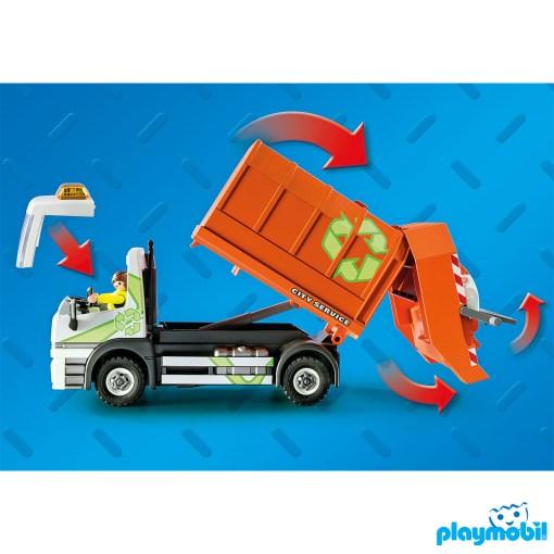 Playmobil 70200 Vehicles Recycling Truck Figure เพลย์โมบิล ยานพาหนะ รถเก็บขยะรีไซเคิล