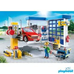 Playmobil 70202 Vehicles Car Repair Garage Figure เพลย์โมบิล ยานพาหนะ อู่ซ่อมรถ