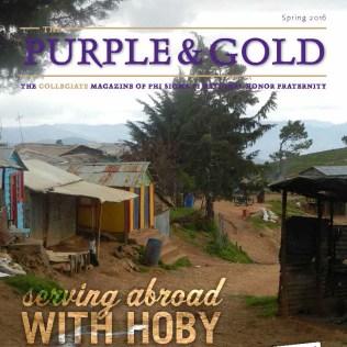 Purple & Gold Cover