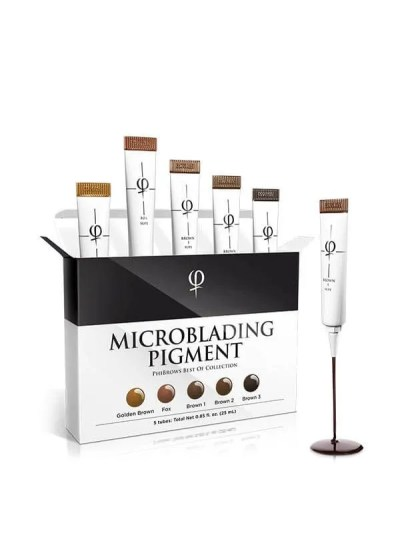PHIBROWS MICROBLADING PIGMENT COLLECTION