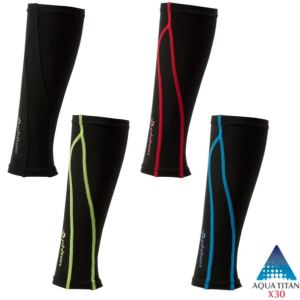 Phiten Calf Sleeves with comfortable fit