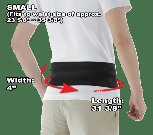 Phiten Lightweight Titanium Waist Belt Small