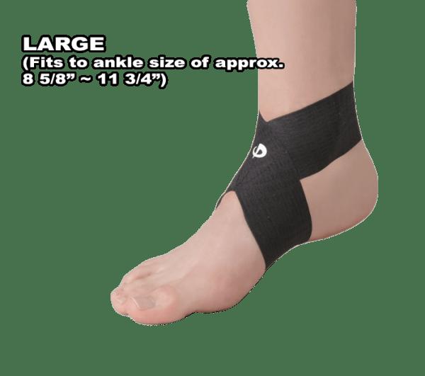Phiten Titanium Ankle Wrap Large