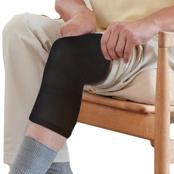 Phiten Titanium Knee Support Black
