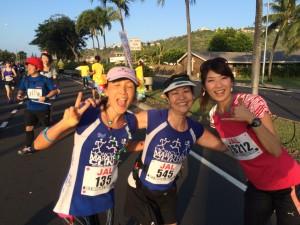 Ayako and runners