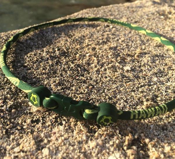 X30 Honu Phiten Hawaii Titanium Necklace