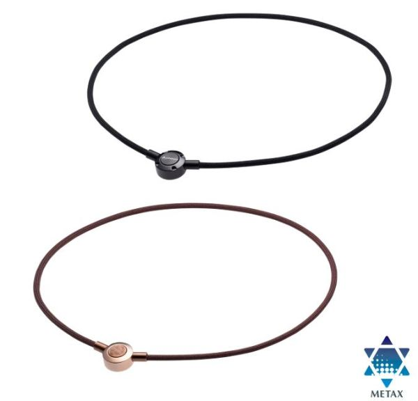Metax Push Type Necklace is the staylish and has the Newest Phiten Technology