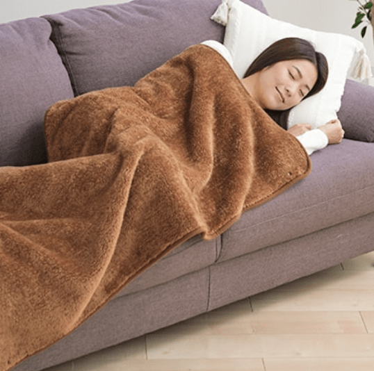 Phiten blanket is a perfect blanket for nap