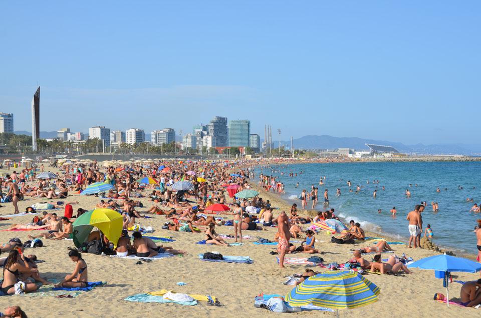 Barcelona dag 4: Deltidsnudister og Sagrada Familia