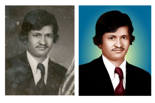 Photoshop Tutorials: How to Color an Old Black and White Photo