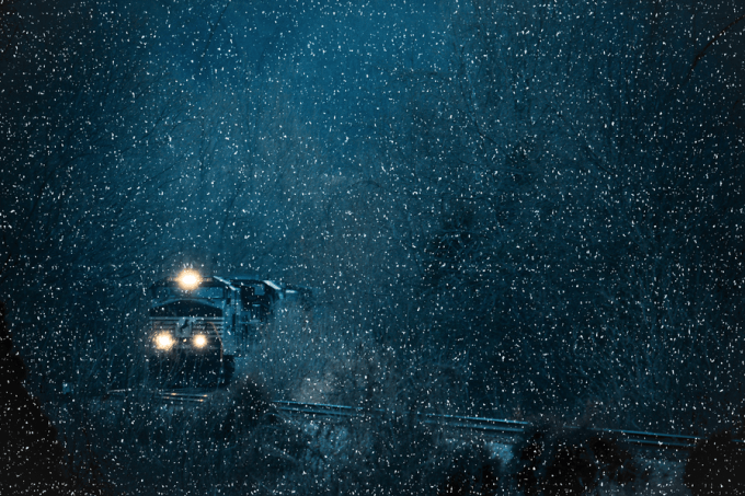 A train for the holidays by Greg Booher